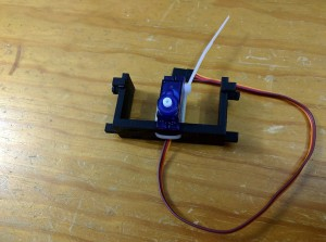 OSW2-06 Assembly01 - Attach Servo - Sml